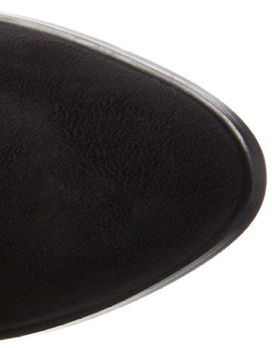 La Strada 909805, Bottes hautes classiques  femme Noir - Schwarz (2201 - micro black)