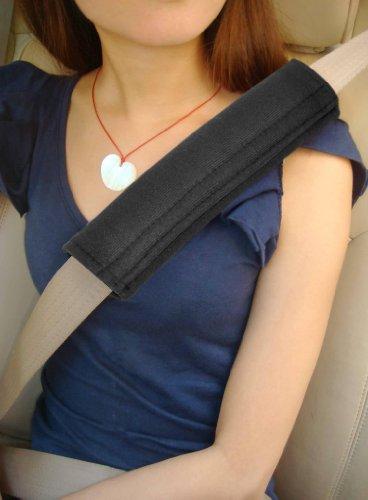 Gurtpolster - Polsterung für Sitzgurt im Auto für mehr Komfort auf der Reise von TRIXES