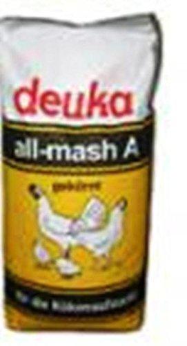 deuka all-mash A gekörnt Alleinfutter für Hühnerküken 25 kg