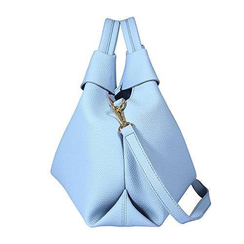 Luokado , Damen Tote-Tasche Hellblau