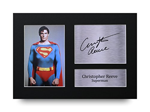 Christopher-Reeve-Signed-A4-Printed-Autograph-Superman-Print-Photo-Picture-Display-Great-Gift-Idea