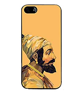 FUSON Chatrapati Shivaji Maharaj King Designer Back Case Cover for Apple iPhone SE