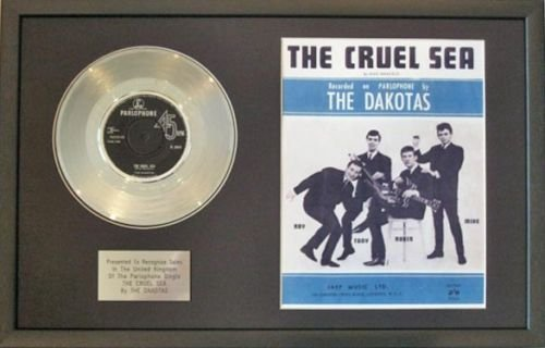 The Dakotas–Platinum Disc & Lied sheet-the Unbarmherziger Sea