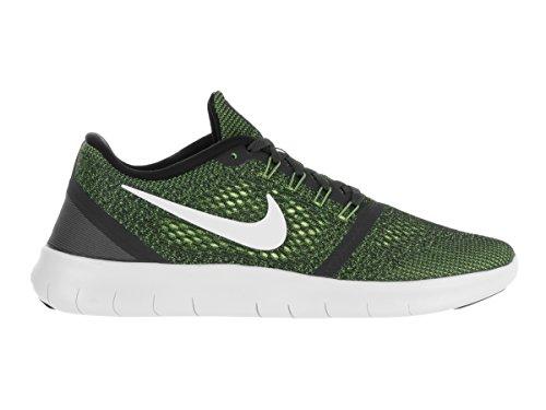 Nike Free Rn, Scarpe da Ginnastica Uomo Gris (Anthracite / Off White-Volt-Black)