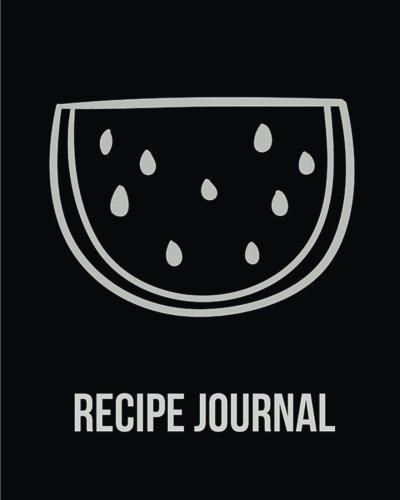 Recipe Journal: (Recipe Journal Vol. B60) Cook Book Size 8' x 10' Blank Cookbook To Write In,Paperback (Blank Cookbooks and Recipe Books), 100 Spacious Record.