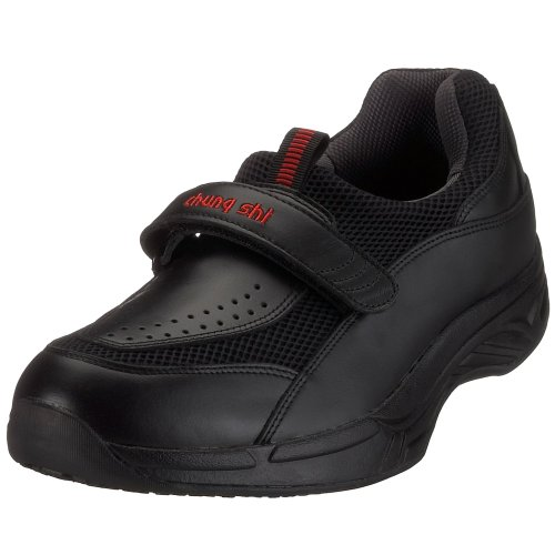 Chung Shi Comfort Step Stretch 9100, Baskets mode homme Noir