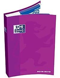 Oxford 100735654School Agenda Scolastica giornaliera 2018–20191giorno pagina, 12x 18cm, violetto