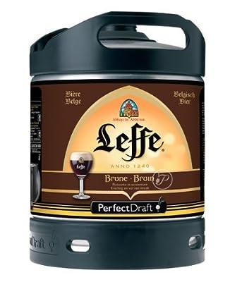 Leffe Braun Perfect Draft Fass 6l + 1 Leffe Glas 25cl