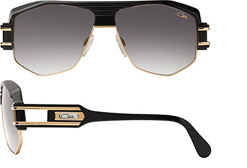 Cazal Herren Sonnenbrille Schwarz schwarz/silberfarben M