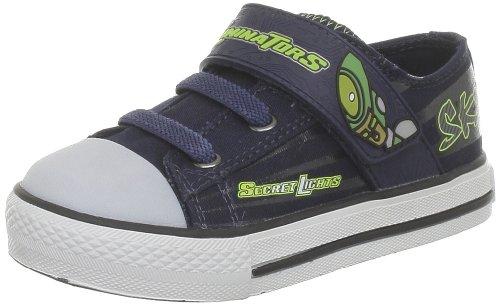 Skechers Stoked-Roswell, Baskets mode garçon Bleu (Bllm)