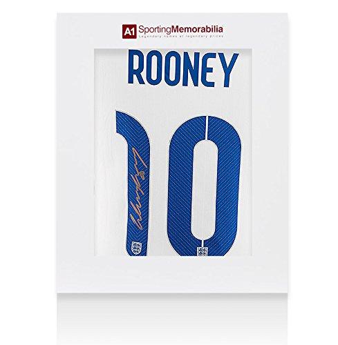 Wayne-Rooney-Signed-England-Shirt-Number-10-Gold-Signature-Gift-Box