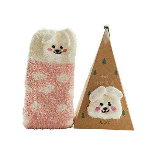 Dress Weihnachten Up (Tinksky Fleece Socken Neuheit Kuschelsocken Weihnachten Winter Socken)