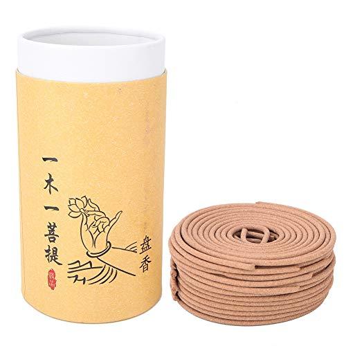 Hztyyier Natürliche Räucherspirale multifunktionale Sandelholz handgemachte Medizin Kräuter Duft Aroma für Yoga Home Decor(#1) -