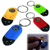 POSTLER HANS GMBH & CO. KG LED-Taschenlampe mit Kompass und Schlüsselanhänger in versch. Farben [Spielzeug]