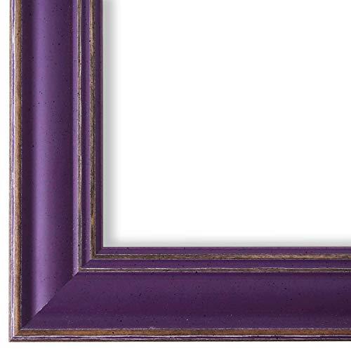 Online Galerie Bingold Bilderrahmen Lila Violett 15x20-15 x 20 cm - Modern, Shabby, Vintage - Alle Größen - handgefertigt in Deutschland - LR - Latina 3,8