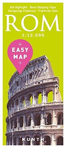 EASY MAP ROM: 1:12500 (KUNTH EASY MAP / Reisekarten) (Rom, Italien-map)