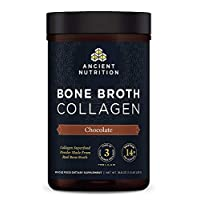 Dr-Axe Ancient Nutrition Bone Broth Collagen Chocolate - 528 g