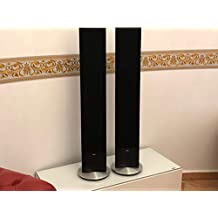 Loewe Individual Stand Speaker Slim ID (par) de Aluminio Black 69204l10