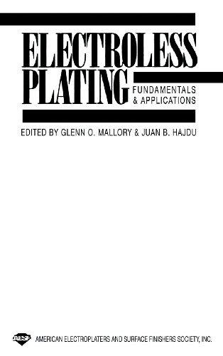 Electroless Plating by Glenn O. Mallory (1991-01-14)