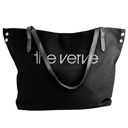 The Verve Top Logo Brit Pop Rock Richard Ashcroft Forth Schultertasche Canvas Handtasche