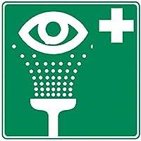 Holthaus Medical Rettungszeichen Augenspüleinrichtung Schild Hinweis Tafel Aufkleber, leuchtend, 20x20cm preisvergleich bei billige-tabletten.eu