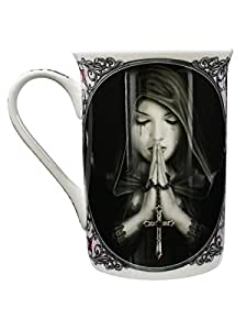 Tasse emboîtée Anne Stokes : Gothic Prayer Sous Licence Officielle