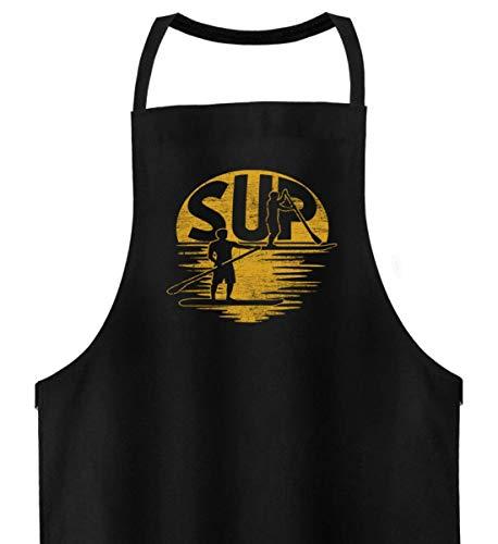 SUP - Stand Up Paddling - Paddle Board Surfen Surfer Surfbrett Sport Wassersport - Hochwertige Grillschürze