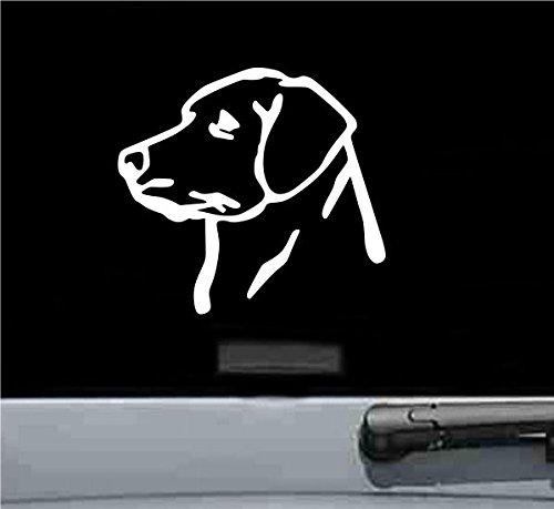 Labrador Retriever Kopf Vinyl Aufkleber Aufkleber - Toyota Trd Decals