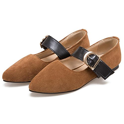 Coolcept Classique Mary Femmes Jane Chaussures Brown Yellow rrwvE5xq