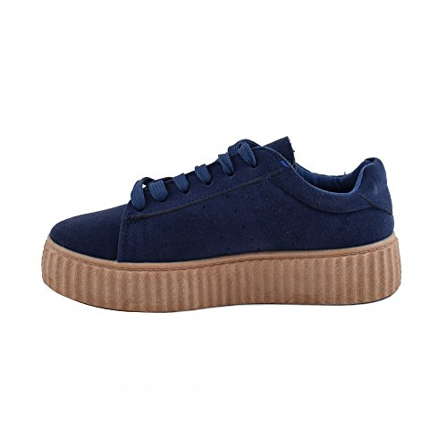 Benavente, Sneaker donna Blu marino/caramello
