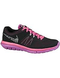 reputable site 8bea1 93cb9 Nike WMNS Flex 2014 RN Damen Laufschuhe, schwarz - Black Pink Fuchsia Flash