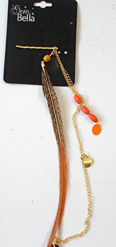 gem-bella-hairclips-beads-feather-nwt