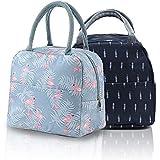 2 pièces de sac à lunch portable, sac isotherme, sac à lunch, sac de pique-nique, sac de rangement des aliments, utilisé pour