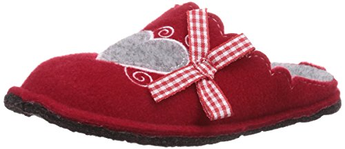 softwaves 542 111, Chaussons fille Rouge (Red 506)