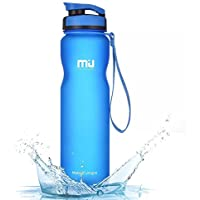 MIU COLOR 1l/600ml Bouteille d'eau Gourde de Sport Plastique Non-Toxique Écologique sans BPA