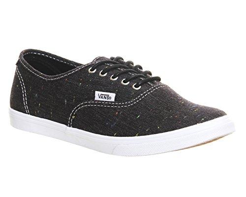 Vans - U Authentic Lo Pro (Hickory Stripe, Sneaker basse Unisex – Adulto Speckle Linen - Black