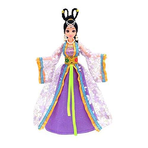 Violet Fairy Puppe für Mädchen Kleid Puppe Wunderschöne China Puppe Ball-Jointed Puppe