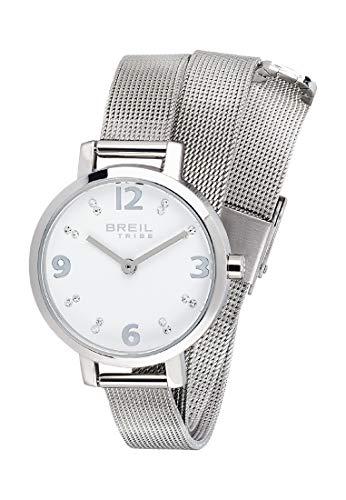 Orologio breil per donna meet up con bracciale in acciaio, movimento solo tempo - 2h quarzo
