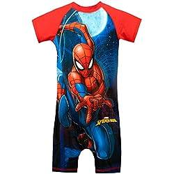 Marvel Bañador para Niño Spiderman Rojo 2 a 3 Años