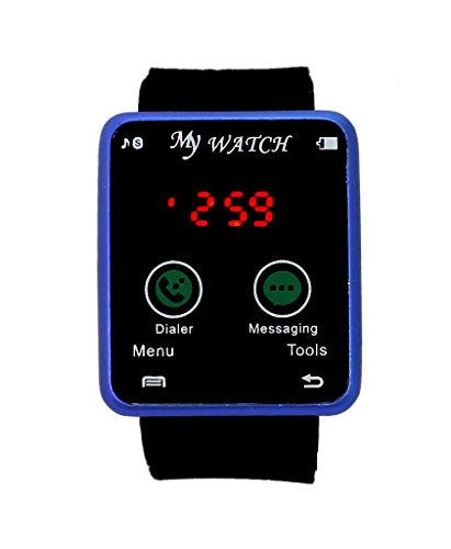 Kokan Planet Smart Red Led Touch Screen Unisex Led Digital Watch
