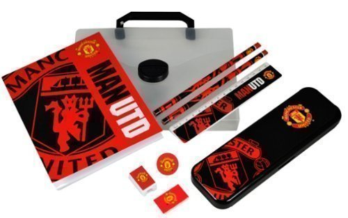 Official Football Merchandise Manchester United Big Logo PP Stationery Set (Man Utd)