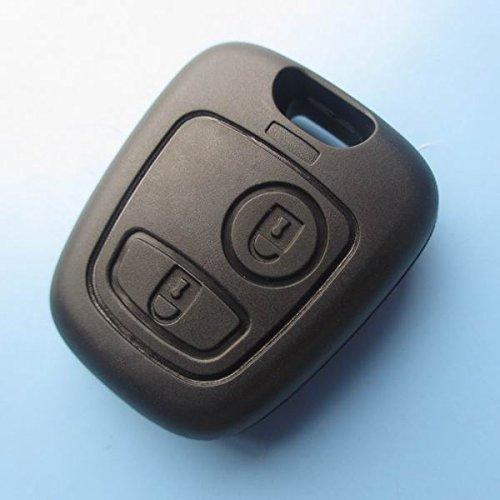 Ersatz Fernbedienung Schlüssel Shell Knopf-Fernbedienung Schlüsselanhänger Flip Schlüssel Schlüssel mit Rohling Schlüssel Gehäuse ohne Elektronik inionâ ® (206 Van)