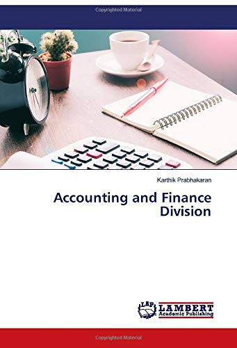 Accounting and Finance Division