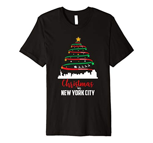 Christmas In New York City Patriot T-shirt