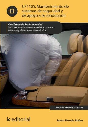 Mantenimiento de sistemas de seguridad y de apoyo a la conducción. TMVG0209 por Santos Parreño Ibáñez