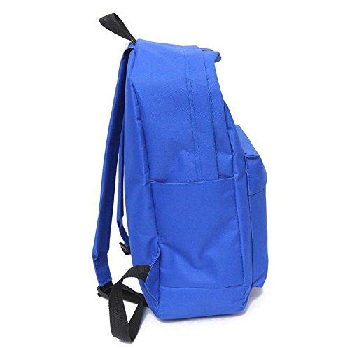 Longra Donne 5 colori zaino moda Borse da viaggio Blu