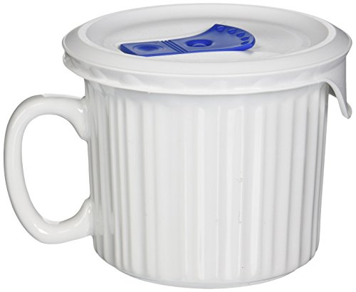 Corningware-becher (Corningware Pop-Ins Mug White 20 Oz by CorningWare)