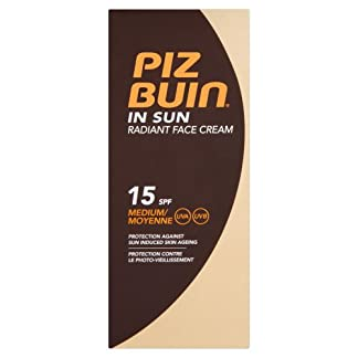 PIZ BUIN PIZ BUIN IN SUN radiant face cream SPF15 40 ml