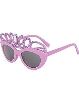 Gafa de Sol niña Princesa | 100% UV400 proteccion ojos | edad 4-8 años Kids infantil Junior niños | Divertidos...