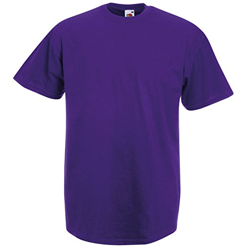 Fruit of the Loom Valueweight T - Farbe: Purple - Größe: S -